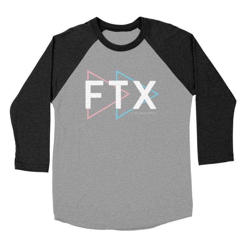 FTX Men's Baseball Triblend Longsleeve T-Shirt by FTM TRANSTASTICS SHOP