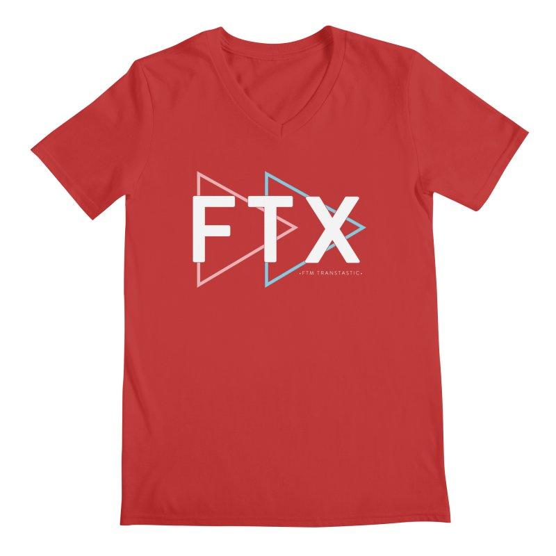 FTX Men's V-Neck by FTM TRANSTASTICS SHOP