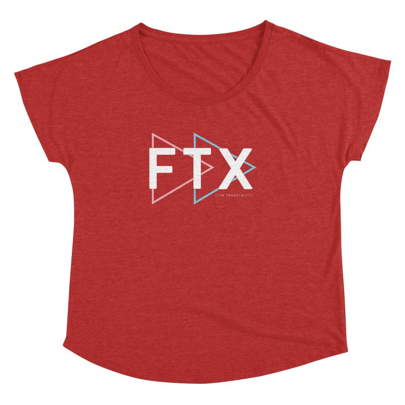 FTX Women's Dolman Scoop Neck by FTM TRANSTASTICS SHOP