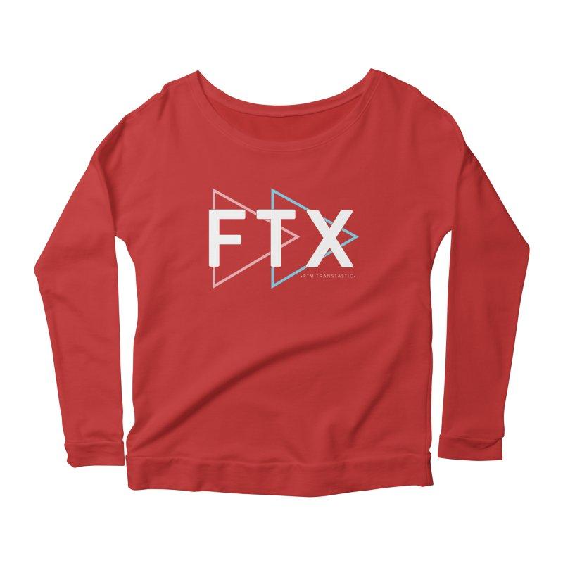 FTX Women's Scoop Neck Longsleeve T-Shirt by FTM TRANSTASTICS SHOP
