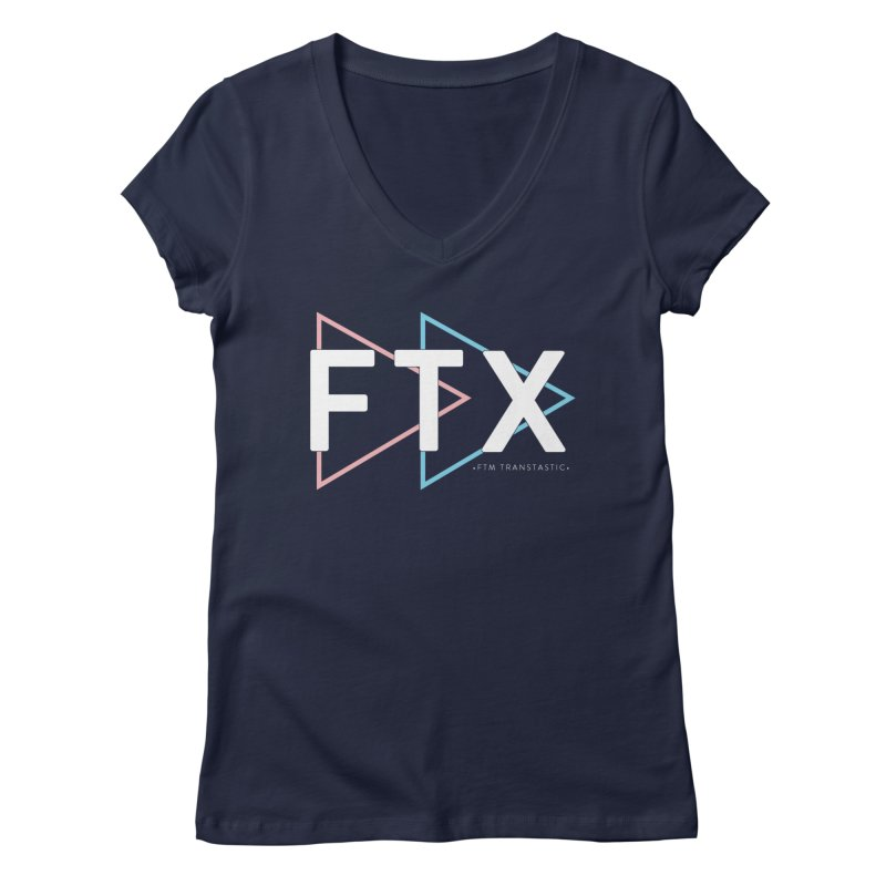 FTX Women's Regular V-Neck by FTM TRANSTASTICS SHOP