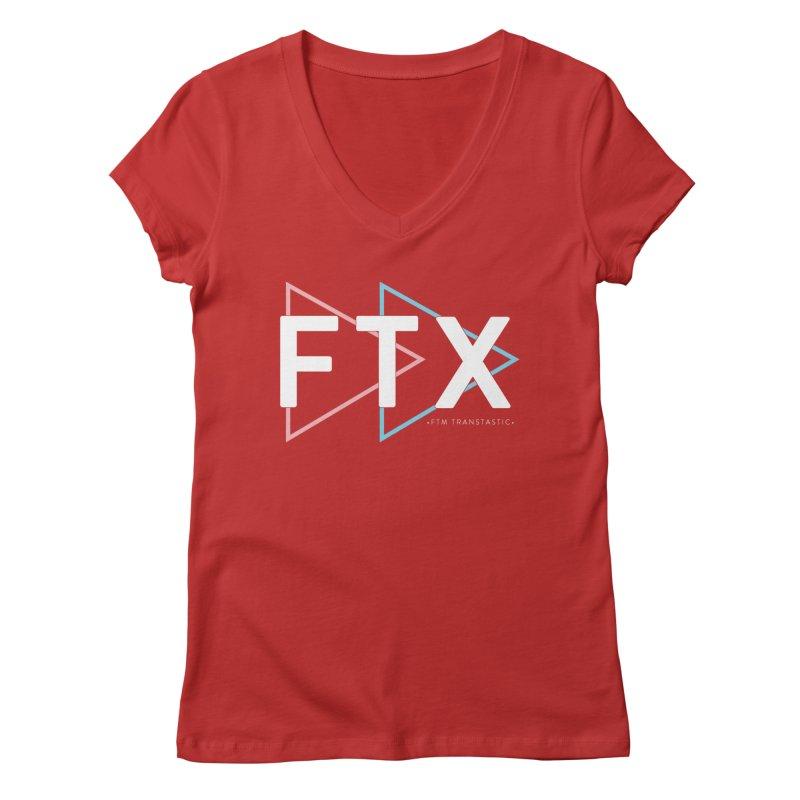 FTX Women's Regular V-Neck by FTM TRANSTASTICS SHOP