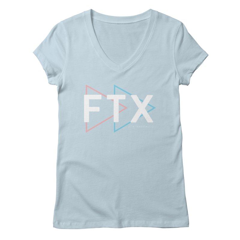 FTX Women's V-Neck by FTM TRANSTASTICS SHOP