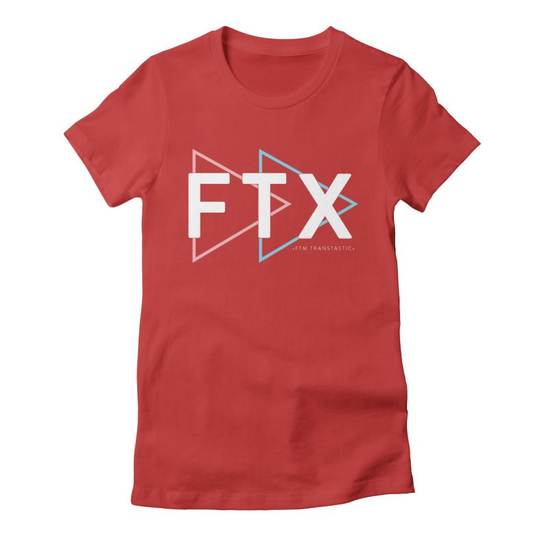 FTX Women's Fitted T-Shirt by FTM TRANSTASTICS SHOP