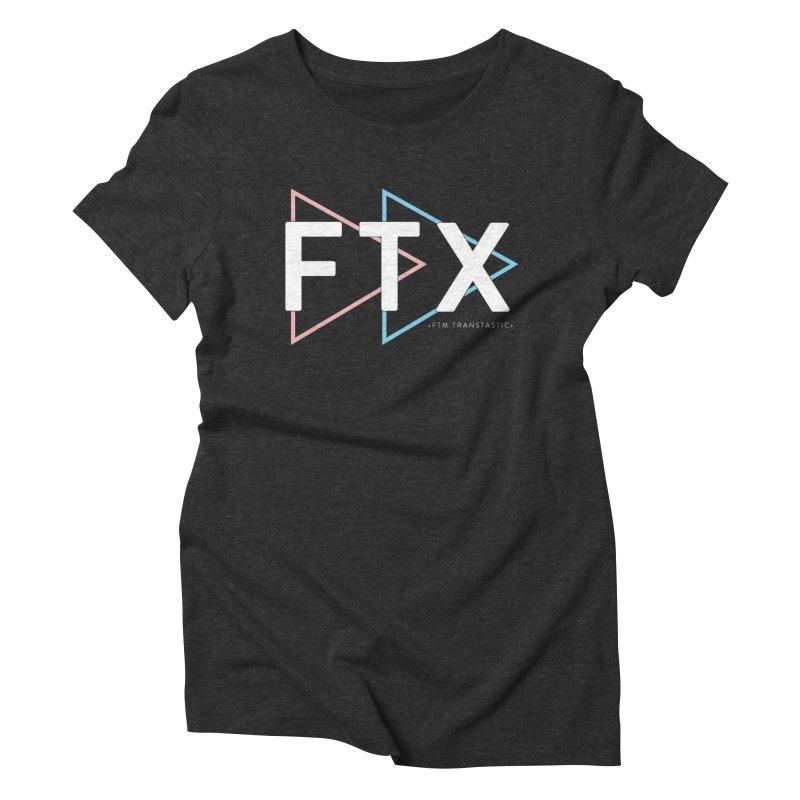 FTX Women's Triblend T-Shirt by FTM TRANSTASTICS SHOP