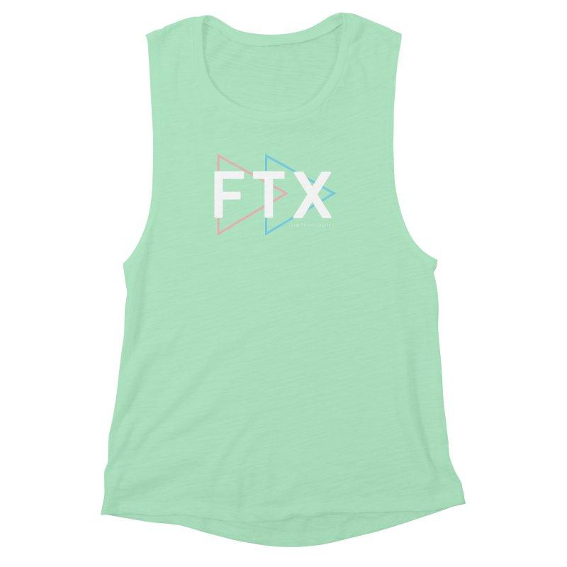 FTX Women's Muscle Tank by FTM TRANSTASTICS SHOP