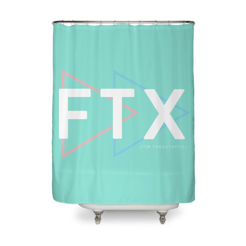 FTX Home Shower Curtain by FTM TRANSTASTICS SHOP