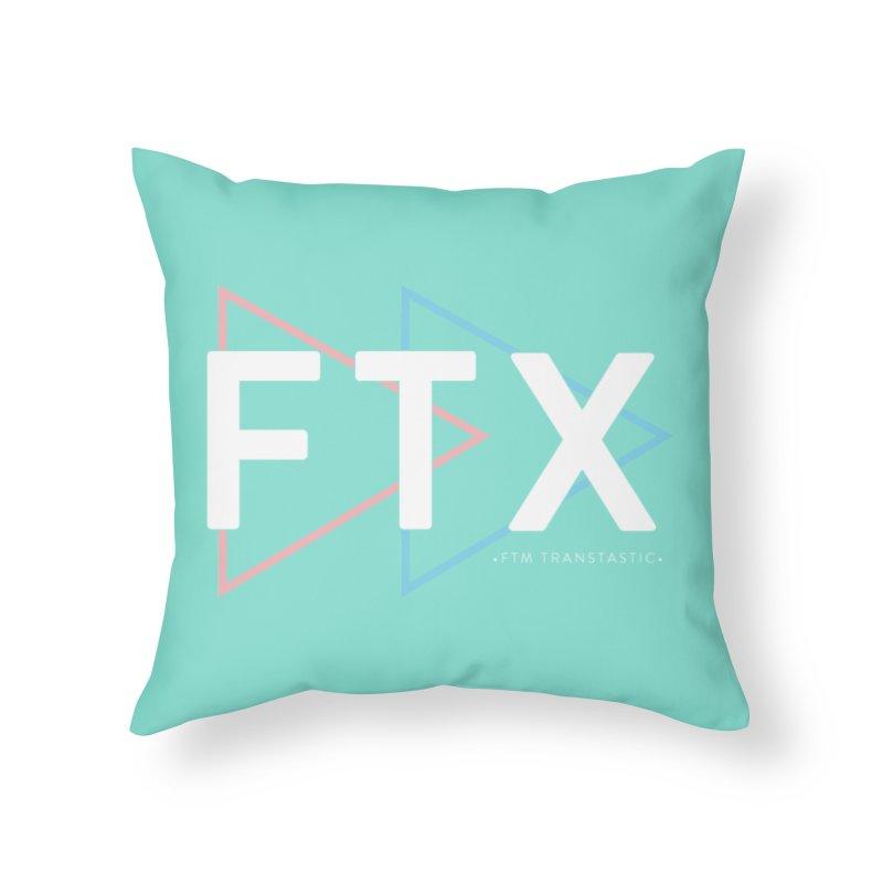 FTX Home Throw Pillow by FTM TRANSTASTICS SHOP