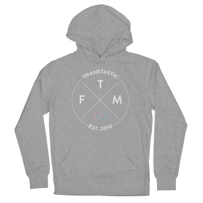 Transtastic Logo! Men's French Terry Pullover Hoody by FTM TRANSTASTICS SHOP