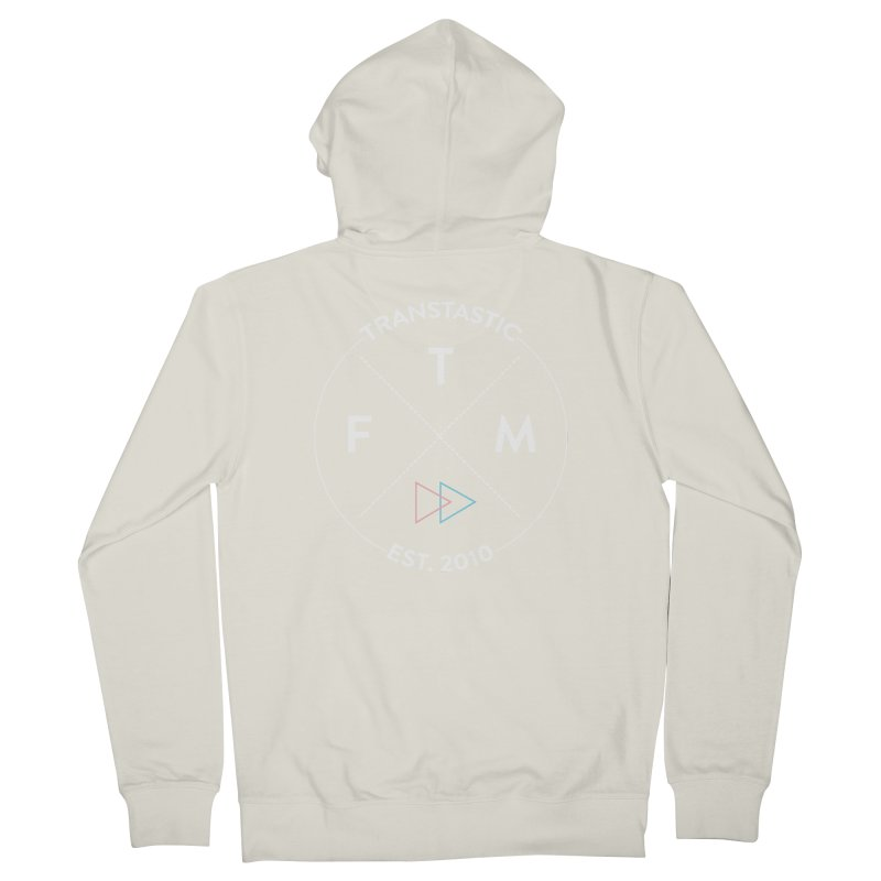 Transtastic Logo! Men's French Terry Zip-Up Hoody by FTM TRANSTASTICS SHOP