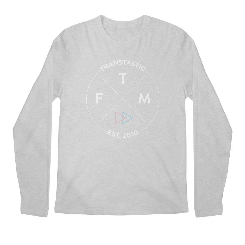 Transtastic Logo! Men's Regular Longsleeve T-Shirt by FTM TRANSTASTICS SHOP