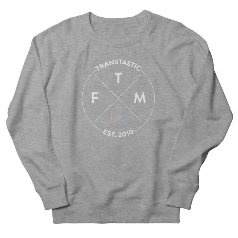 Transtastic Logo! Men's French Terry Sweatshirt by FTM TRANSTASTICS SHOP