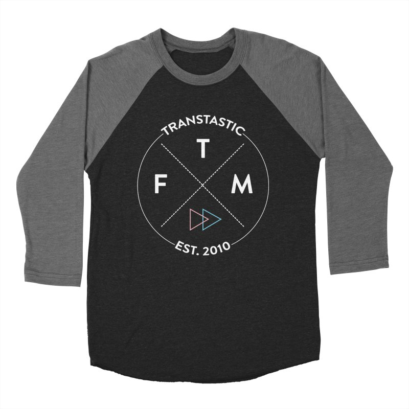 Transtastic Logo! Women's Baseball Triblend T-Shirt by FTM TRANSTASTICS SHOP