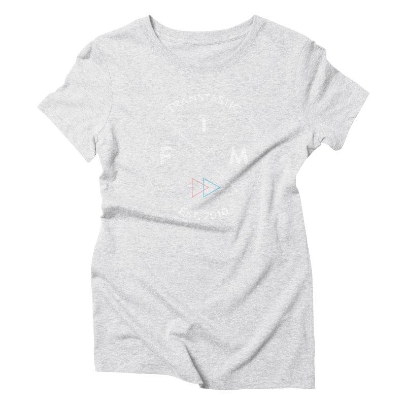 Transtastic Logo! Women's Triblend T-shirt by FTM TRANSTASTICS SHOP