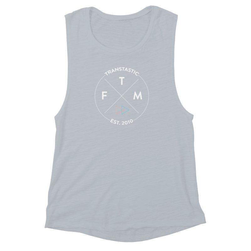 Transtastic Logo! Women's Muscle Tank by FTM TRANSTASTICS SHOP