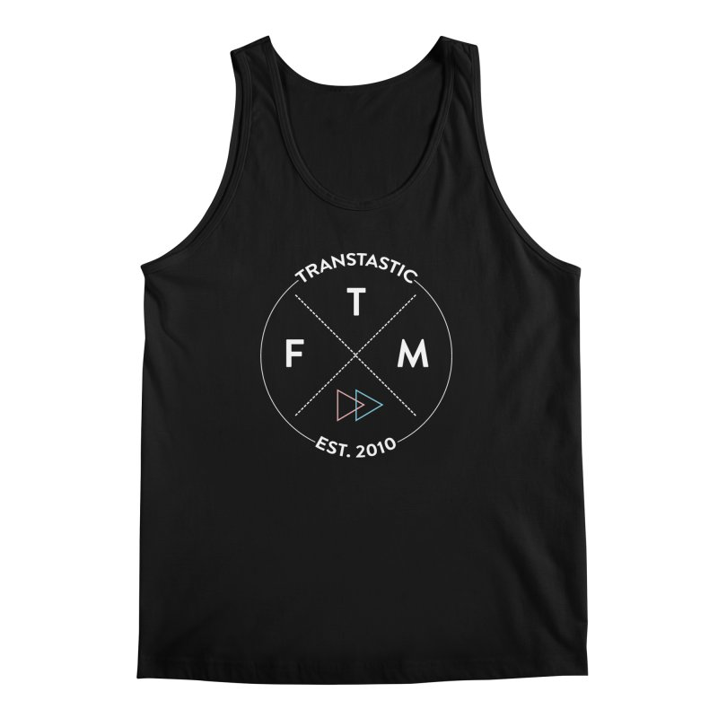 Transtastic Logo! Men's Regular Tank by FTM TRANSTASTICS SHOP