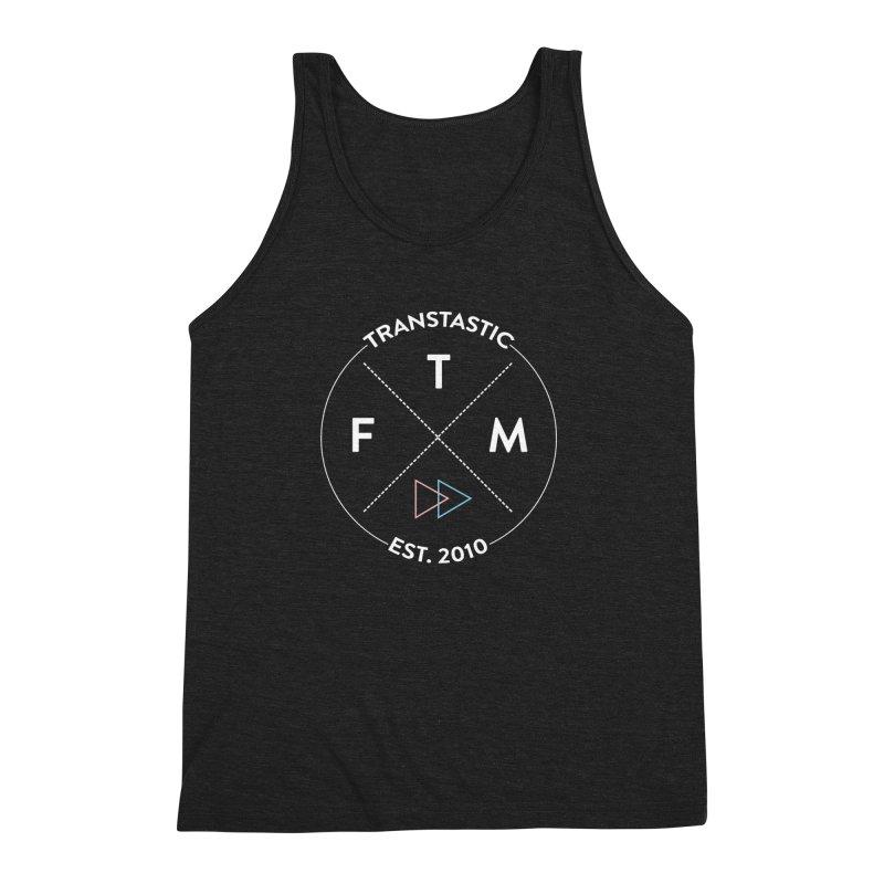 Transtastic Logo! Men's Triblend Tank by FTM TRANSTASTICS SHOP