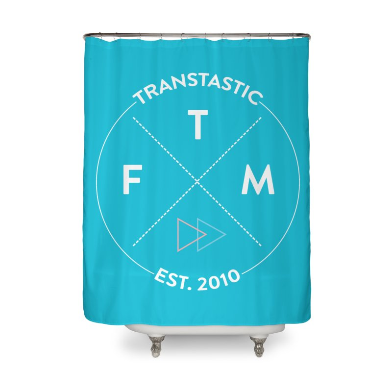 Transtastic Logo! Home Shower Curtain by FTM TRANSTASTICS SHOP