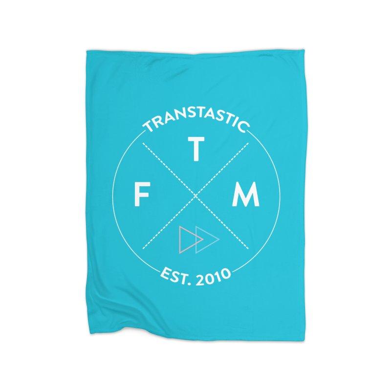 Transtastic Logo! Home Fleece Blanket Blanket by FTM TRANSTASTICS SHOP