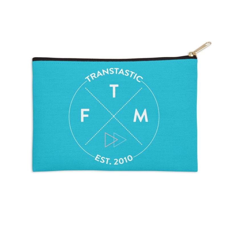 Transtastic Logo! Accessories Zip Pouch by FTM TRANSTASTICS SHOP