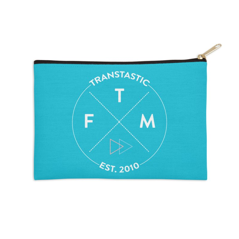 Transtastic Logo! Accessories Zip Pouch by FTM TRANSTASTICS SHOP