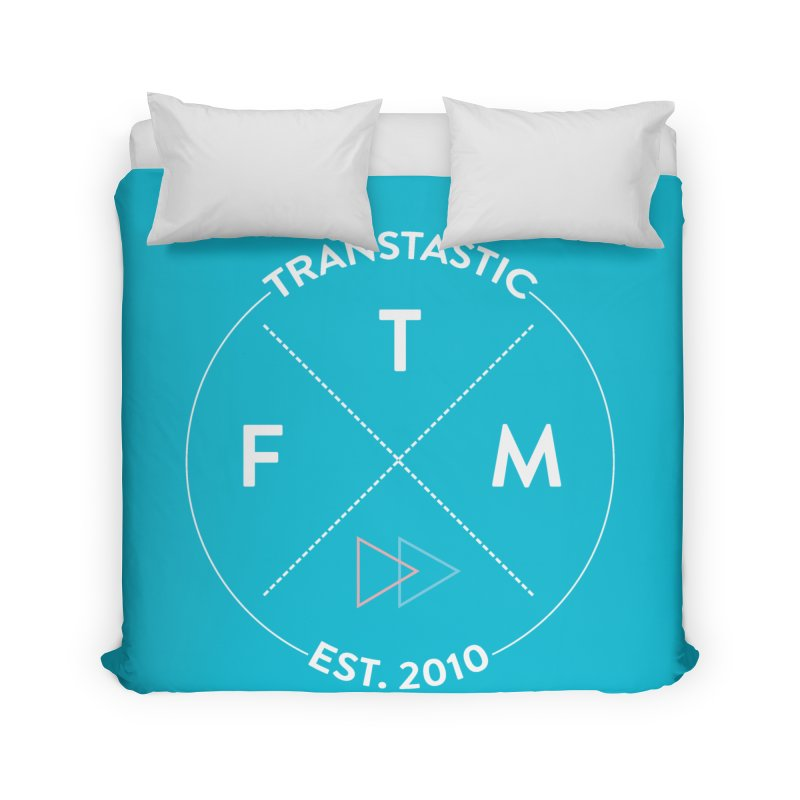 Transtastic Logo! Home Duvet by FTM TRANSTASTICS SHOP