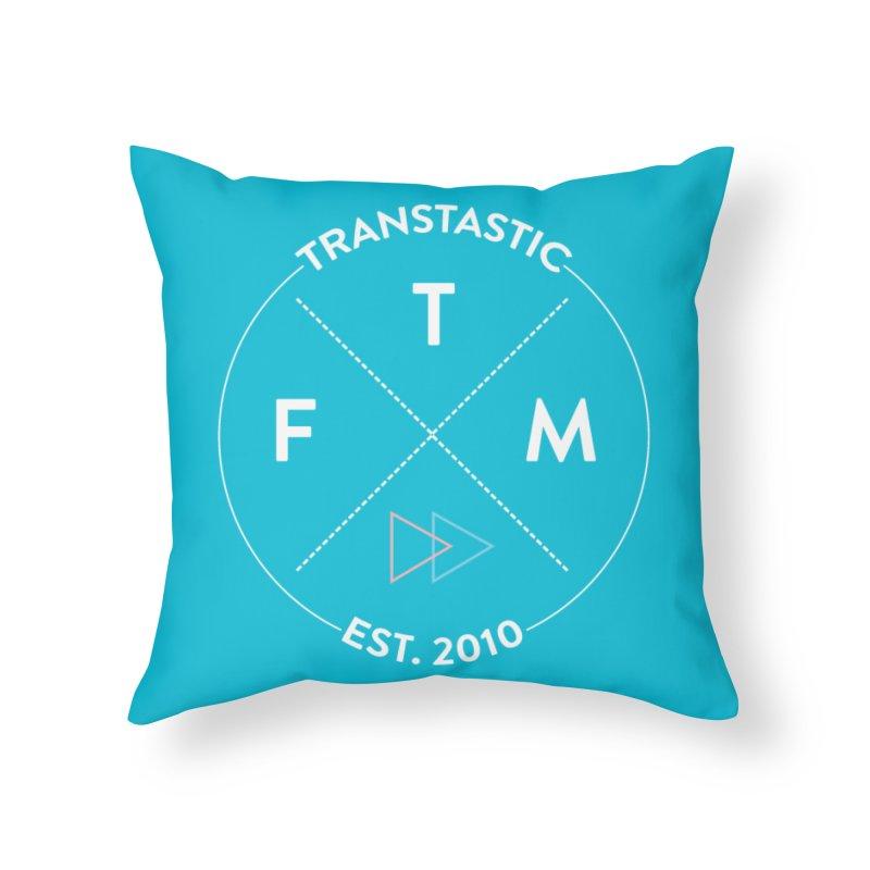 Transtastic Logo! Home Throw Pillow by FTM TRANSTASTICS SHOP