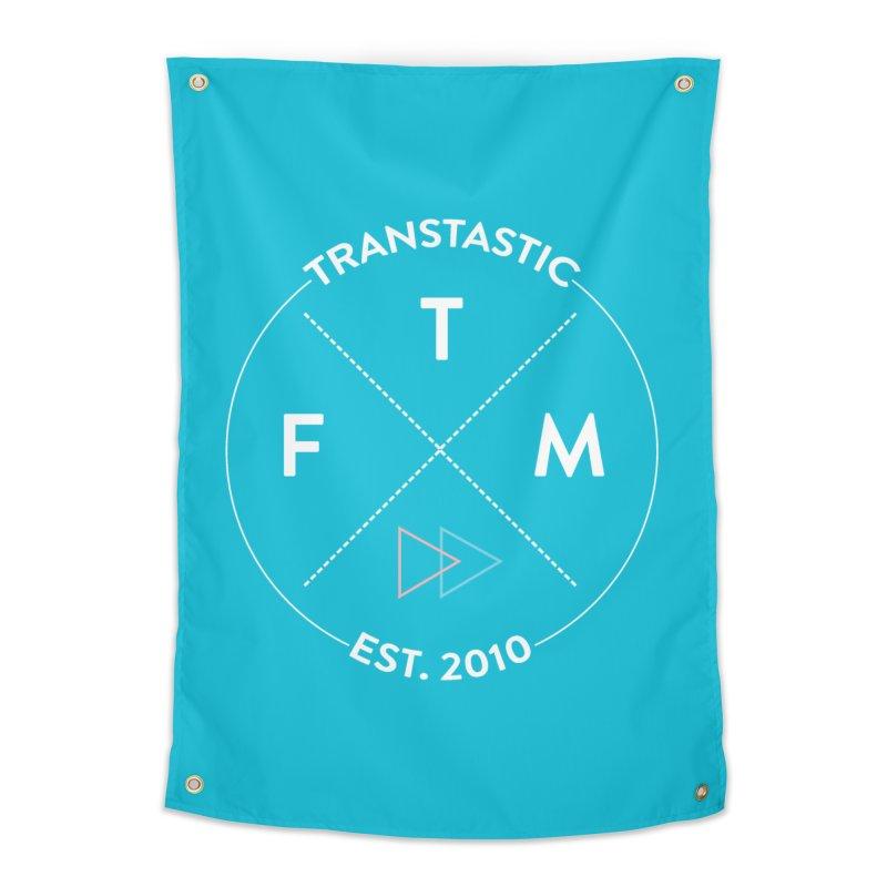 Transtastic Logo! Home Tapestry by FTM TRANSTASTICS SHOP