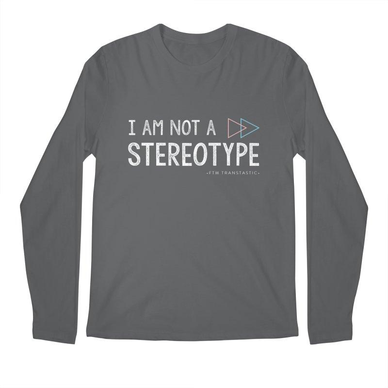 I am NOT a Stereotype Men's Longsleeve T-Shirt by FTM TRANSTASTICS SHOP