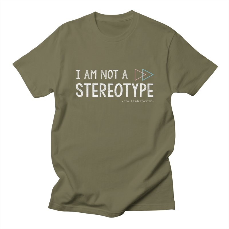 I am NOT a Stereotype Men's Regular T-Shirt by FTM TRANSTASTICS SHOP