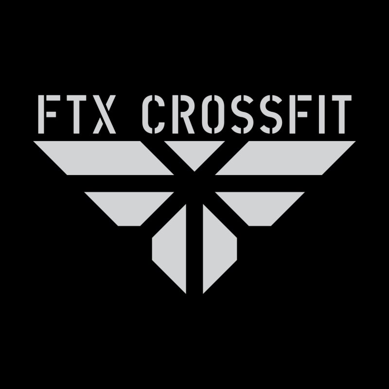 FTX LOGO: ORIGINAL GRAY by FTX CrossFit Store
