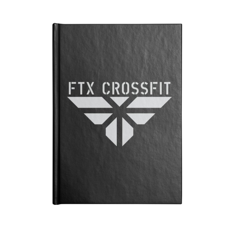 FTX LOGO: ORIGINAL GRAY Accessories Notebook by FTX CrossFit Store