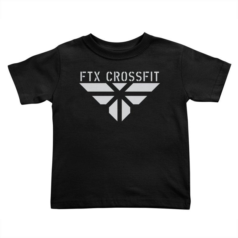 FTX LOGO: ORIGINAL GRAY Kids Toddler T-Shirt by FTX CrossFit Store