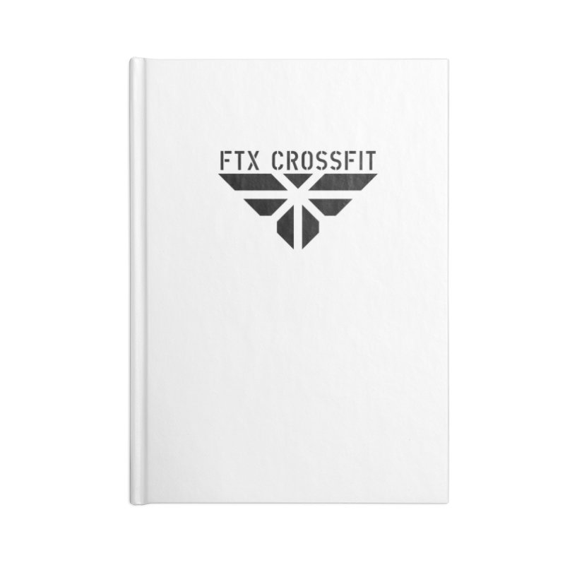 FTX LOGO: ORIGINAL BLACK Accessories Notebook by FTX CrossFit Store