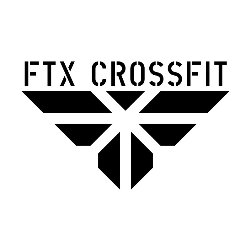FTX LOGO: ORIGINAL BLACK by FTX CrossFit Store