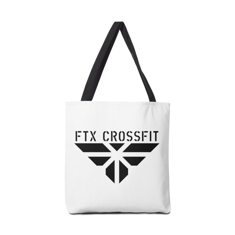 FTX LOGO: ORIGINAL BLACK Accessories Bag by FTX CrossFit Store