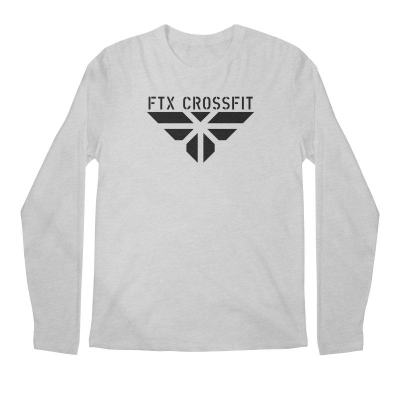 FTX LOGO: ORIGINAL BLACK Men's Regular Longsleeve T-Shirt by FTX CrossFit Store
