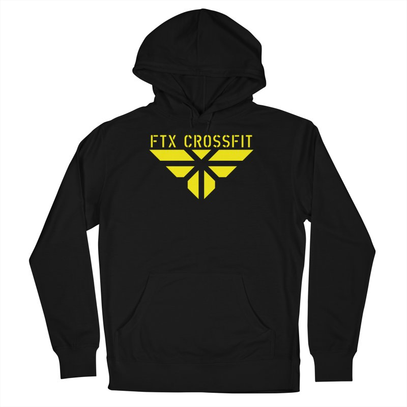 FTX LOGO: ORIGINAL GOLD Men's French Terry Pullover Hoody by FTX CrossFit Store