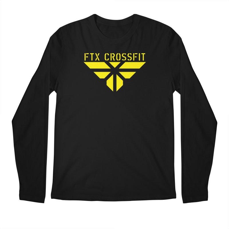 FTX LOGO: ORIGINAL GOLD Men's Regular Longsleeve T-Shirt by FTX CrossFit Store