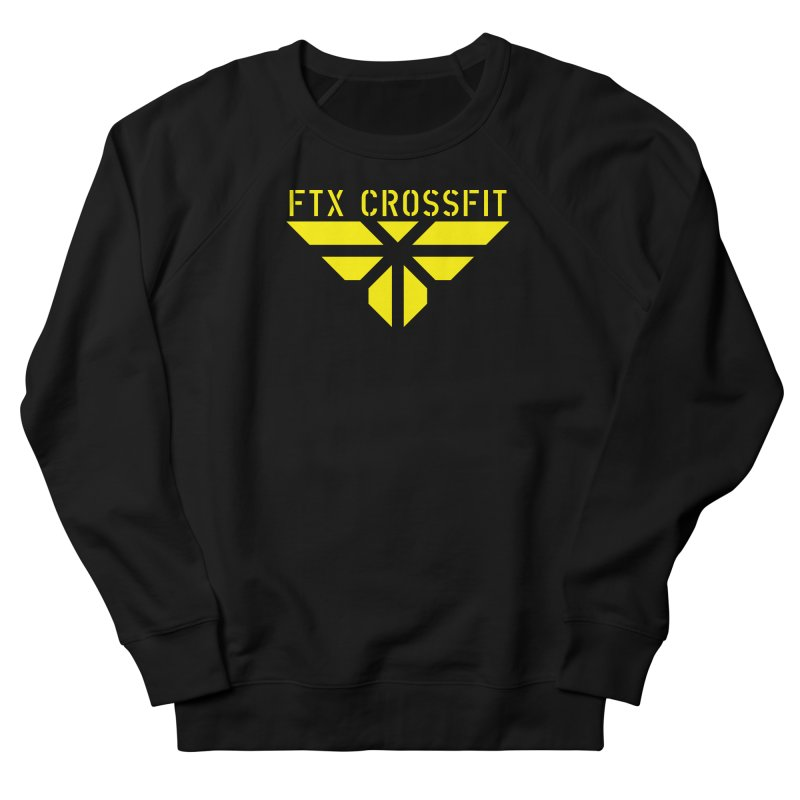 FTX LOGO: ORIGINAL GOLD Men's French Terry Sweatshirt by FTX CrossFit Store