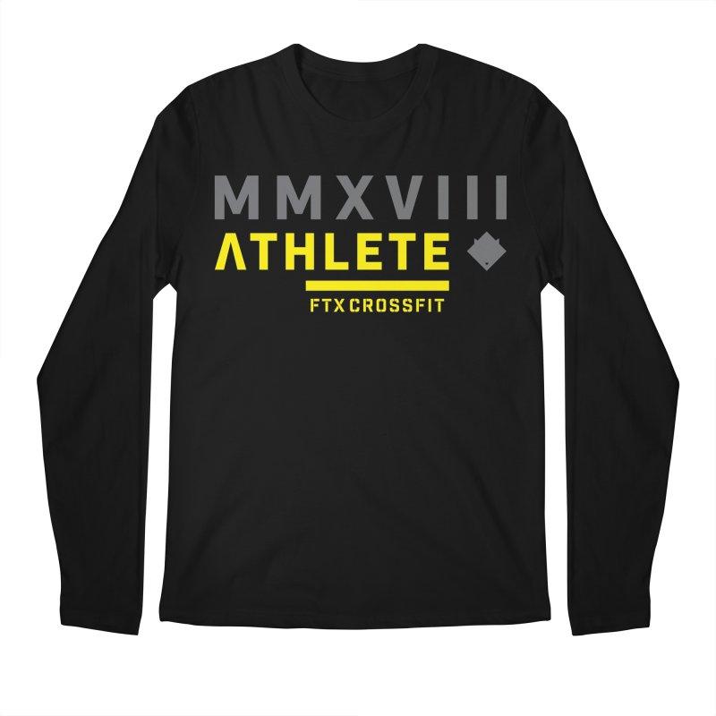 ATHLETE 18: 01 Men's Regular Longsleeve T-Shirt by FTX CrossFit Store