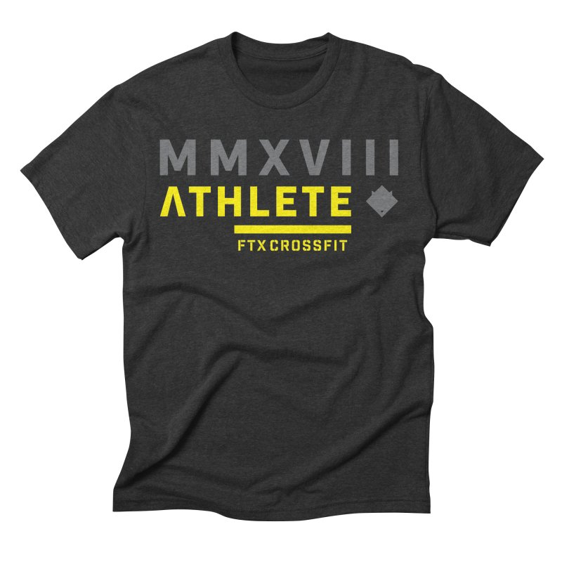 ATHLETE 18: 01 Men's Triblend T-Shirt by FTX CrossFit Store