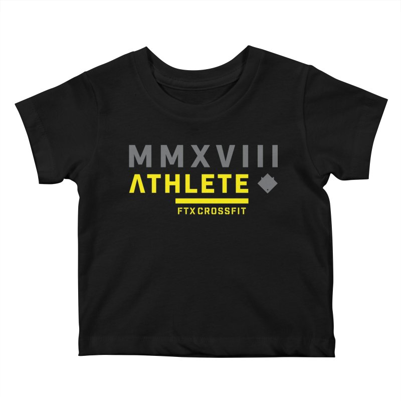 ATHLETE 18: 01 Kids Baby T-Shirt by FTX CrossFit Store