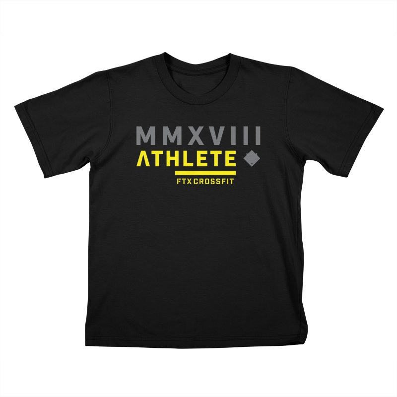 ATHLETE 18: 01 Kids T-Shirt by FTX CrossFit Store