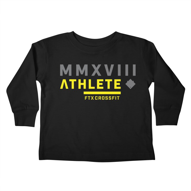ATHLETE 18: 01 Kids Toddler Longsleeve T-Shirt by FTX CrossFit Store
