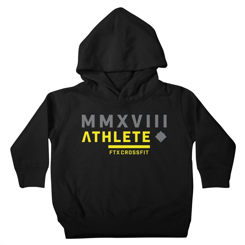 ATHLETE 18: 01 Kids Toddler Pullover Hoody by FTX CrossFit Store