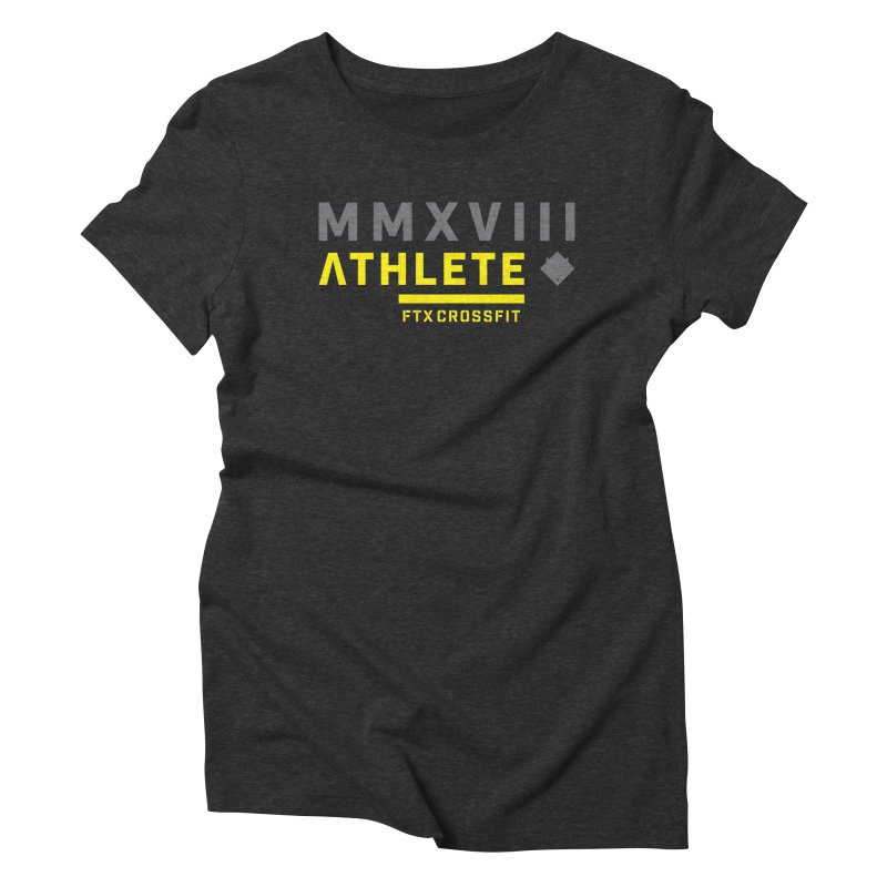 ATHLETE 18: 01 Women's Triblend T-Shirt by FTX CrossFit Store