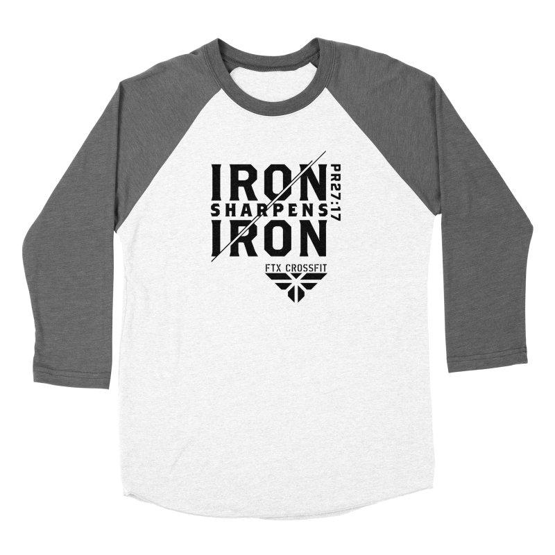 Iron Sharpens Iron 2018 Women's Baseball Triblend Longsleeve T-Shirt by FTX CrossFit Store
