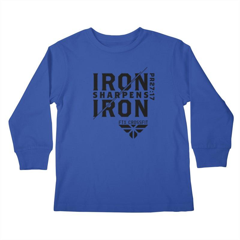 Iron Sharpens Iron 2018 Kids Longsleeve T-Shirt by FTX CrossFit Store