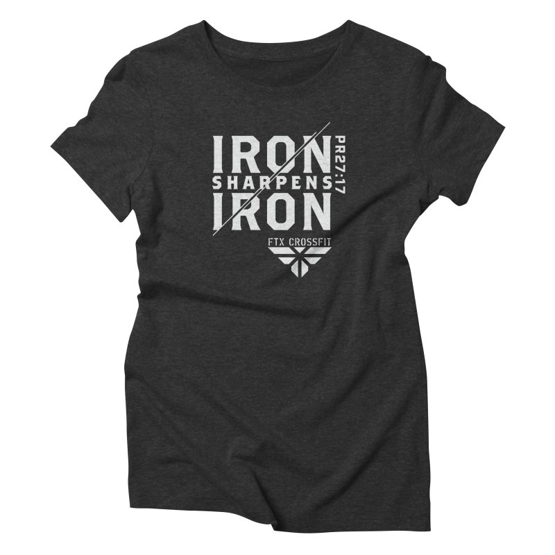 Iron Sharpens Iron 2018 (W) Women's Triblend T-Shirt by FTX CrossFit Store